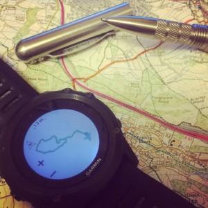 Garmin Fenix3 navigation